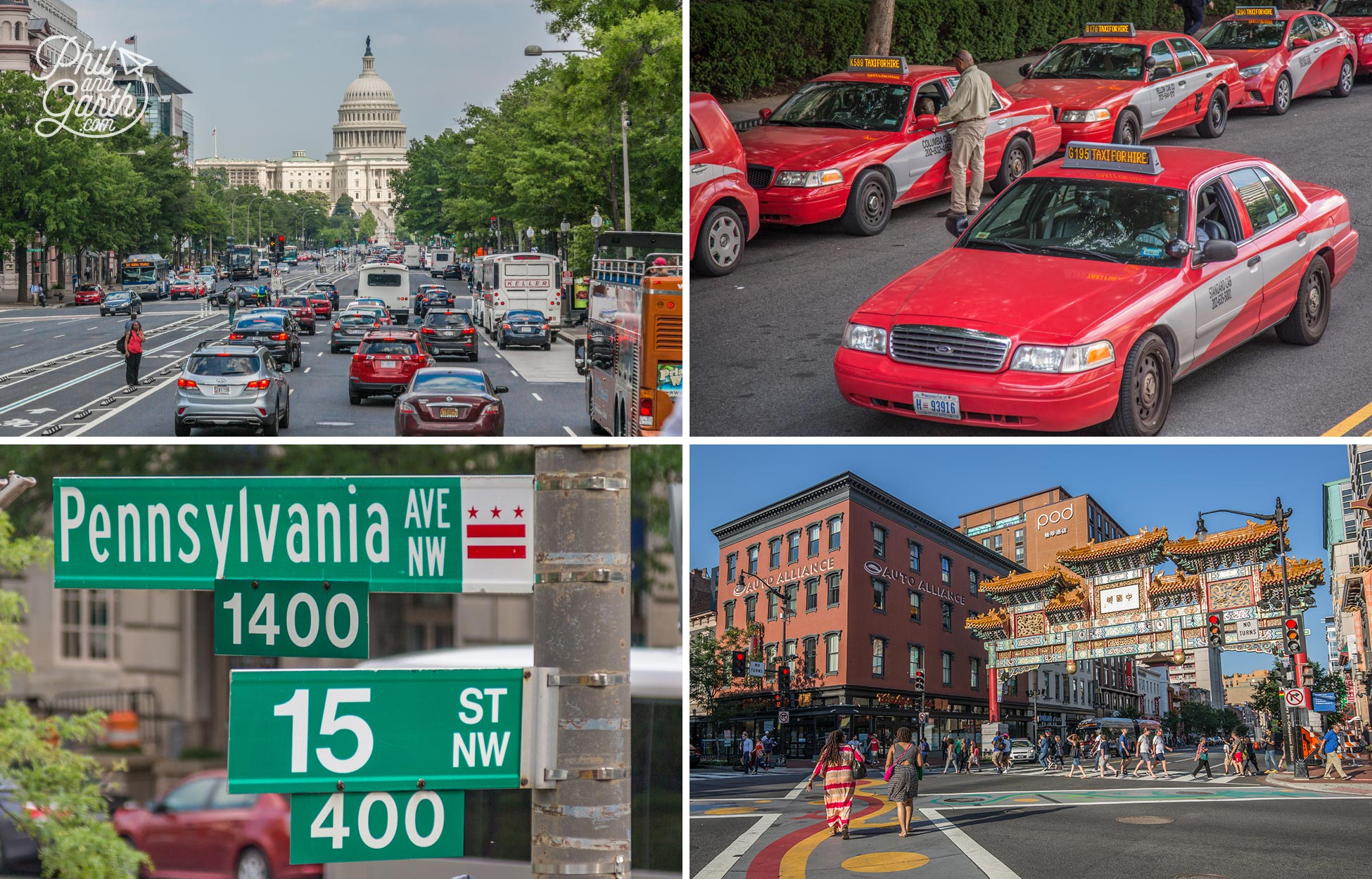 Out and about on DC's streets