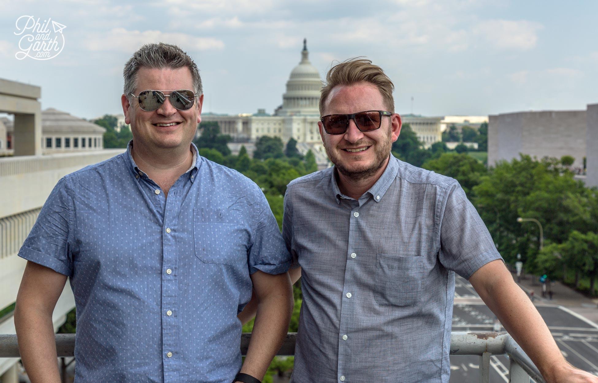 Phil and Garth's Top 5 Washington DC Tips