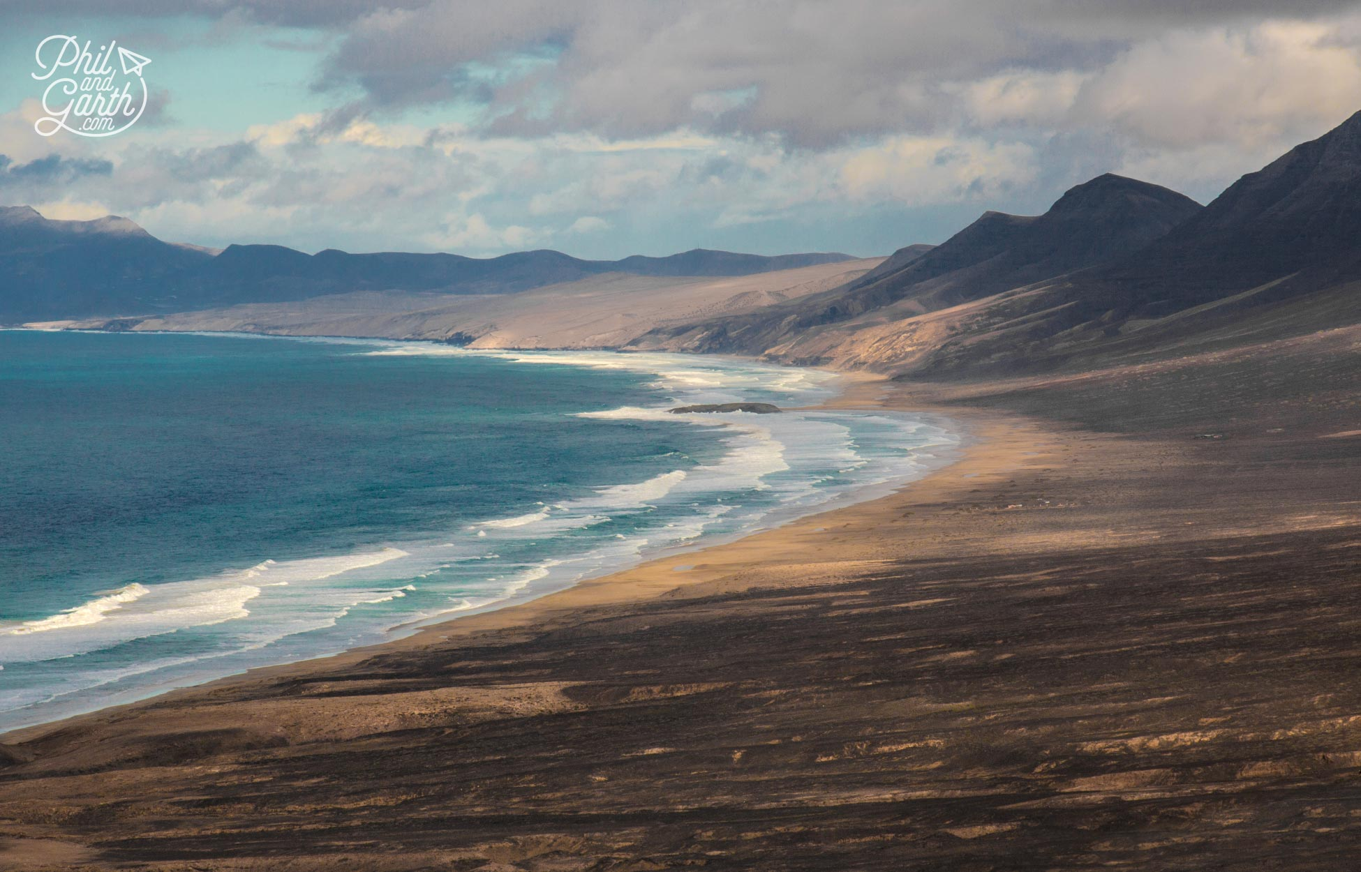 The wild and remote Cofete Beach
