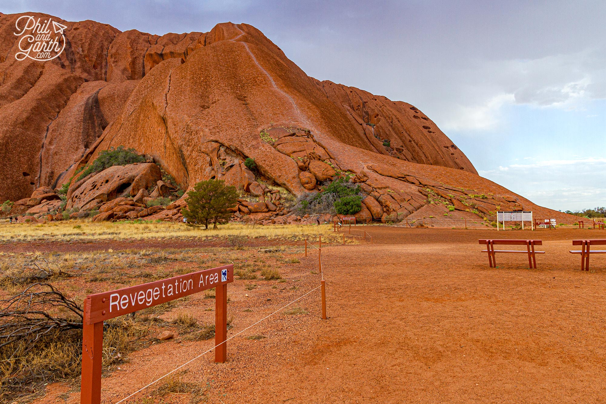 Climbing up to the top of Uluru was banned in 2019