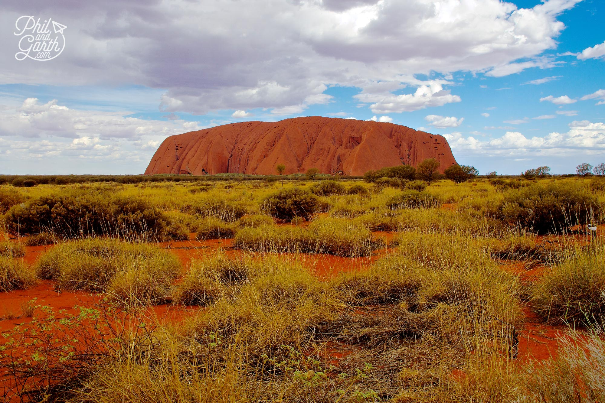 Day 1 of our Uluru itinerary and we start with a fabulous view of Uluru