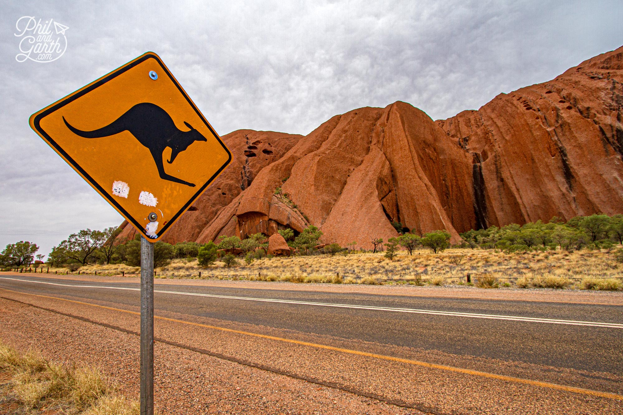 Driving around Uluru-Kata Tjuta National Park is really easy