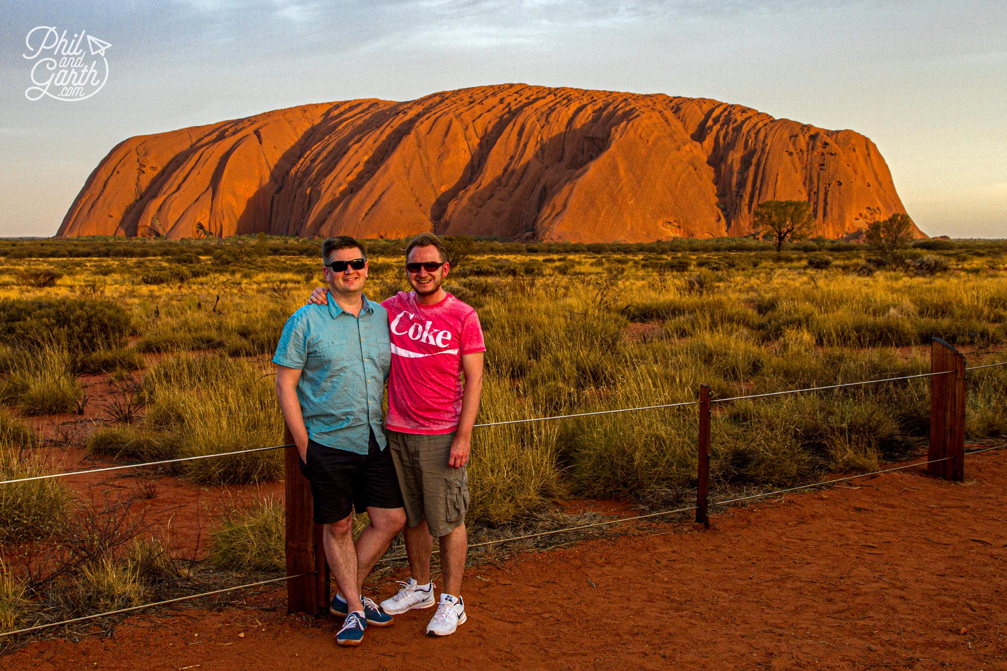 In the bag our classic sunset shot of Uluru