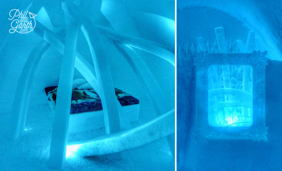 Icehotel's Art Suites