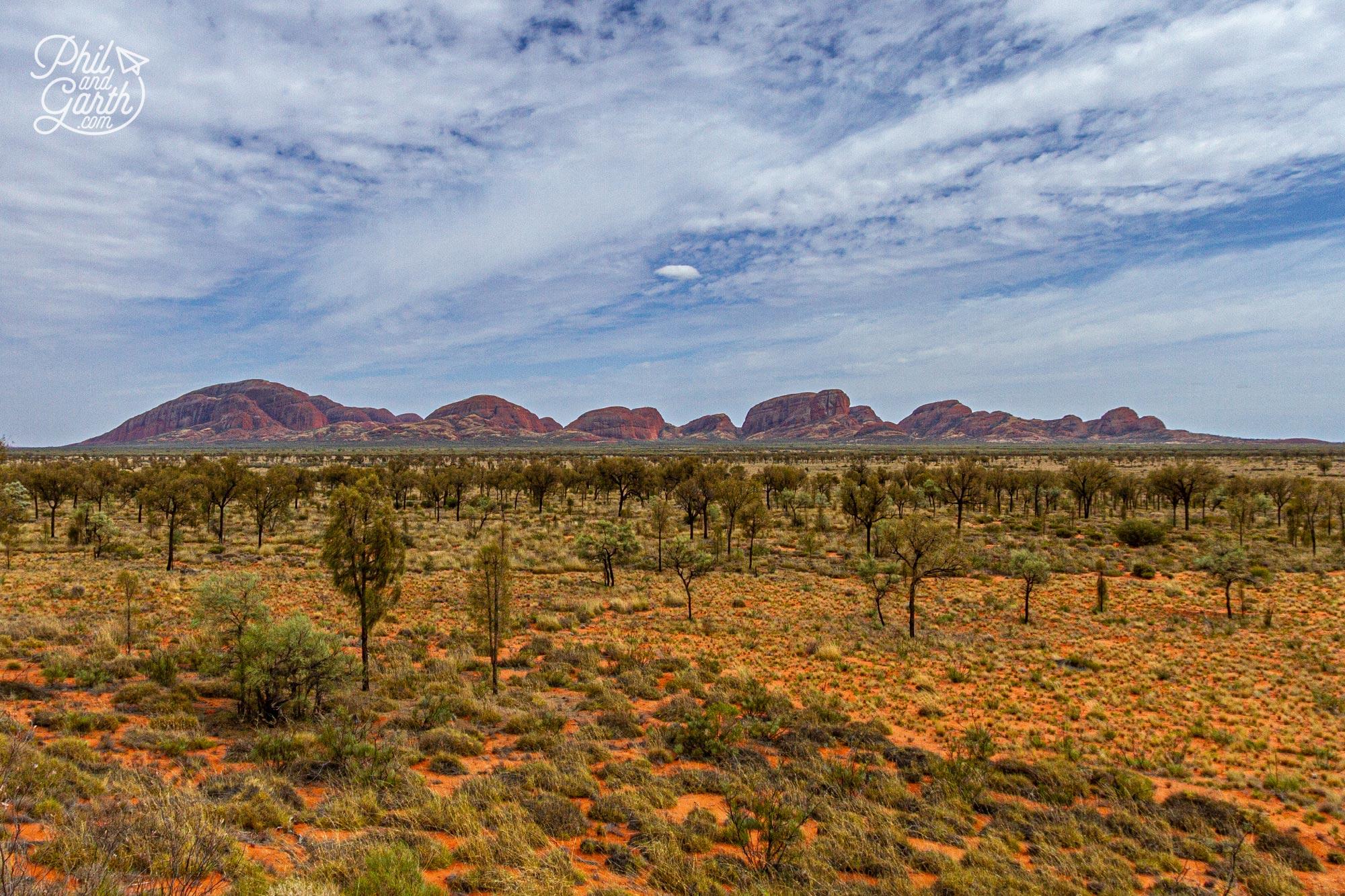 Day 2 of our Uluru itinerary - Kata Tjuta also known as 'The Olgas'