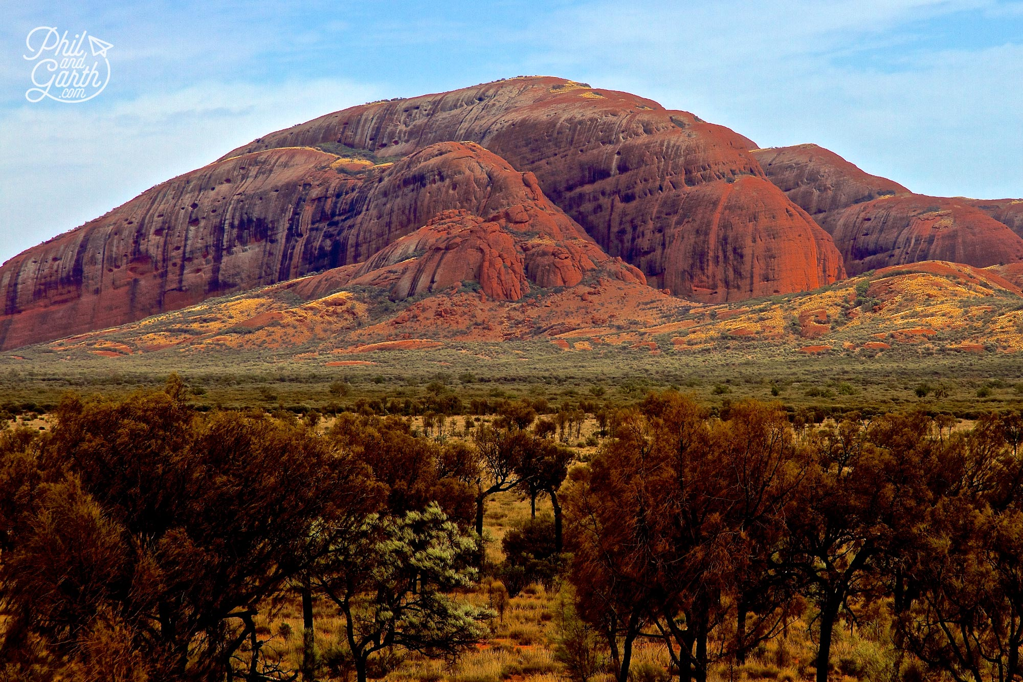 Kata Tjuta is equally as impressive as Uluru
