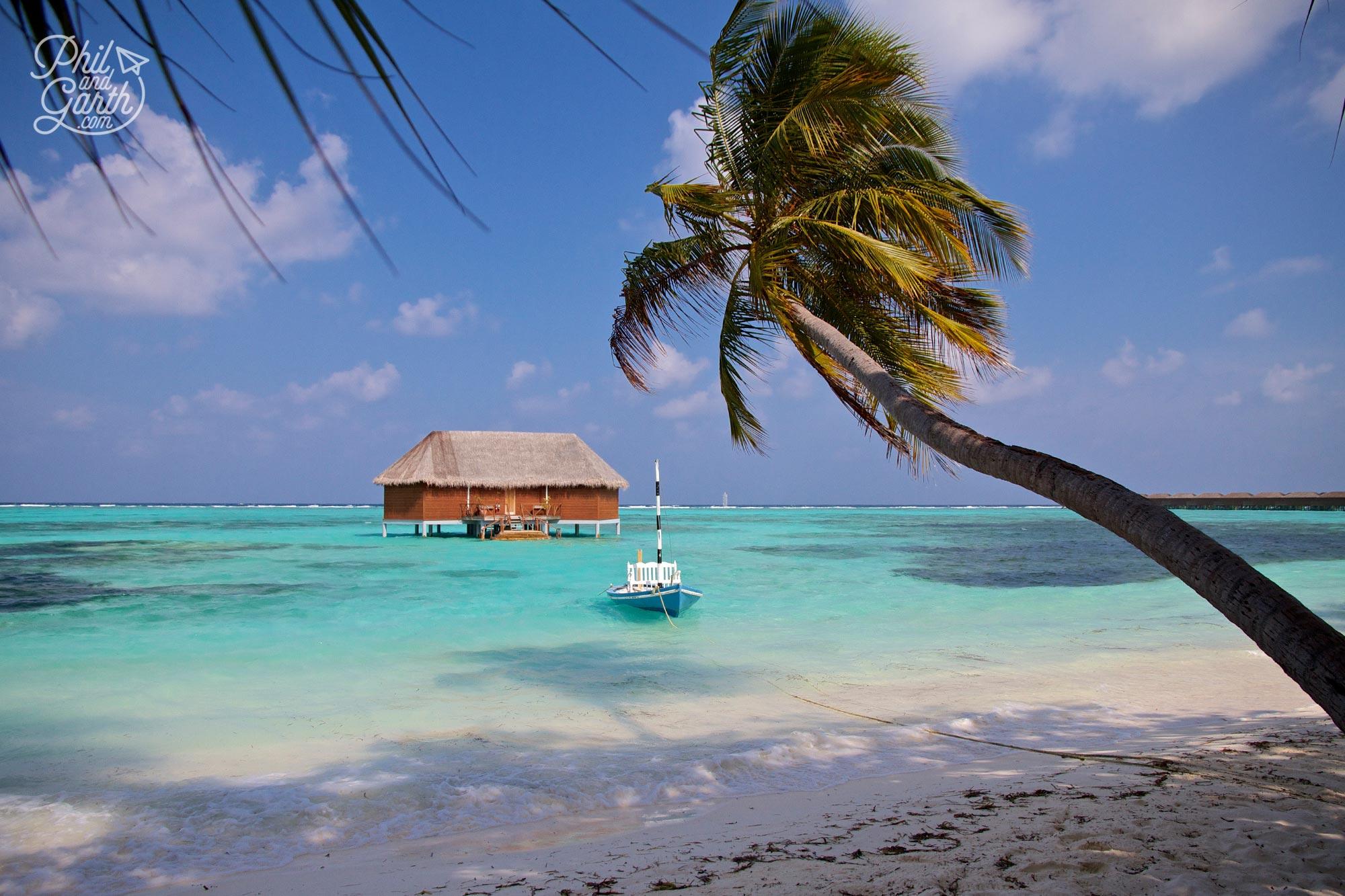 Meeru Island's stunning honeymoon overwater bungalow