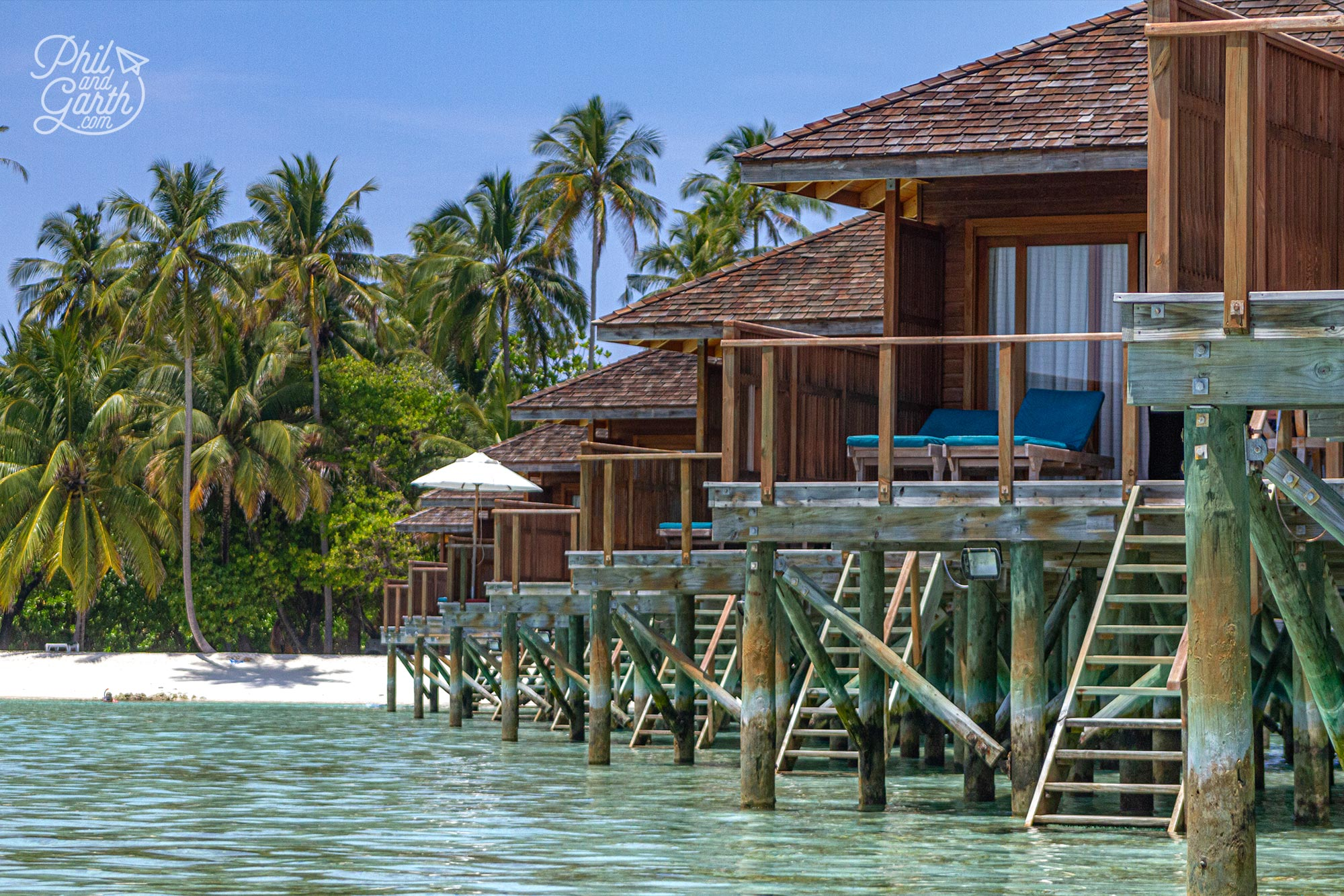 Meeru's Jacuzzi Water Villas are what dreams are made of