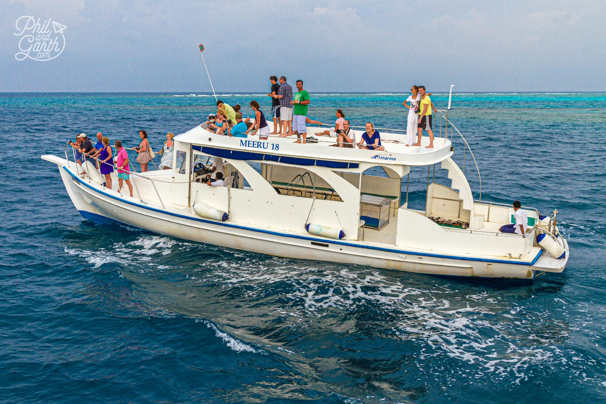 Meeru's dolphin watching boat trip