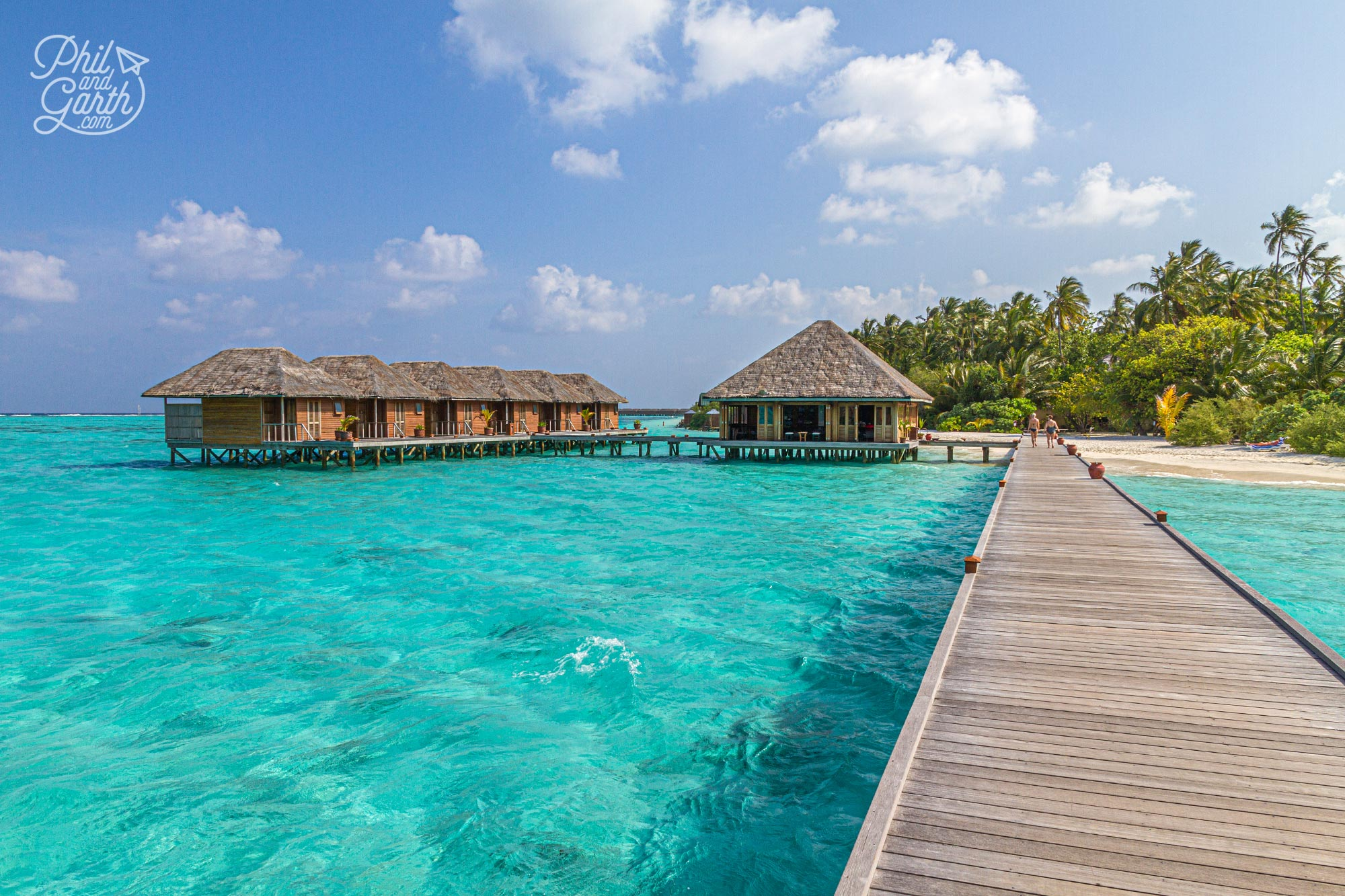 Meeru's overwater Duniye Spa