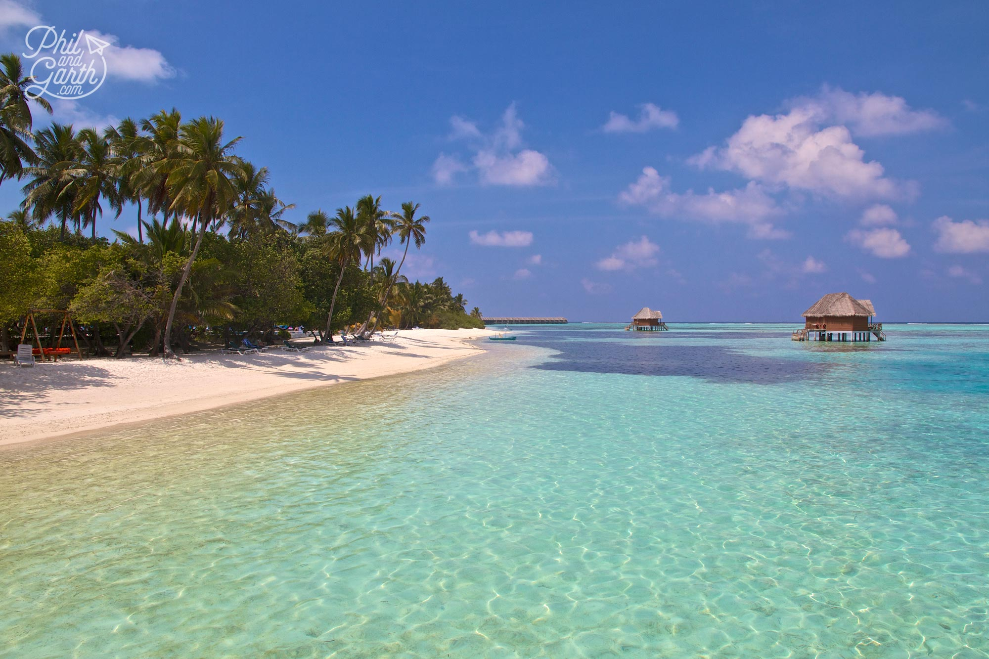 Paradise found - The Meeru Island in the Maldives