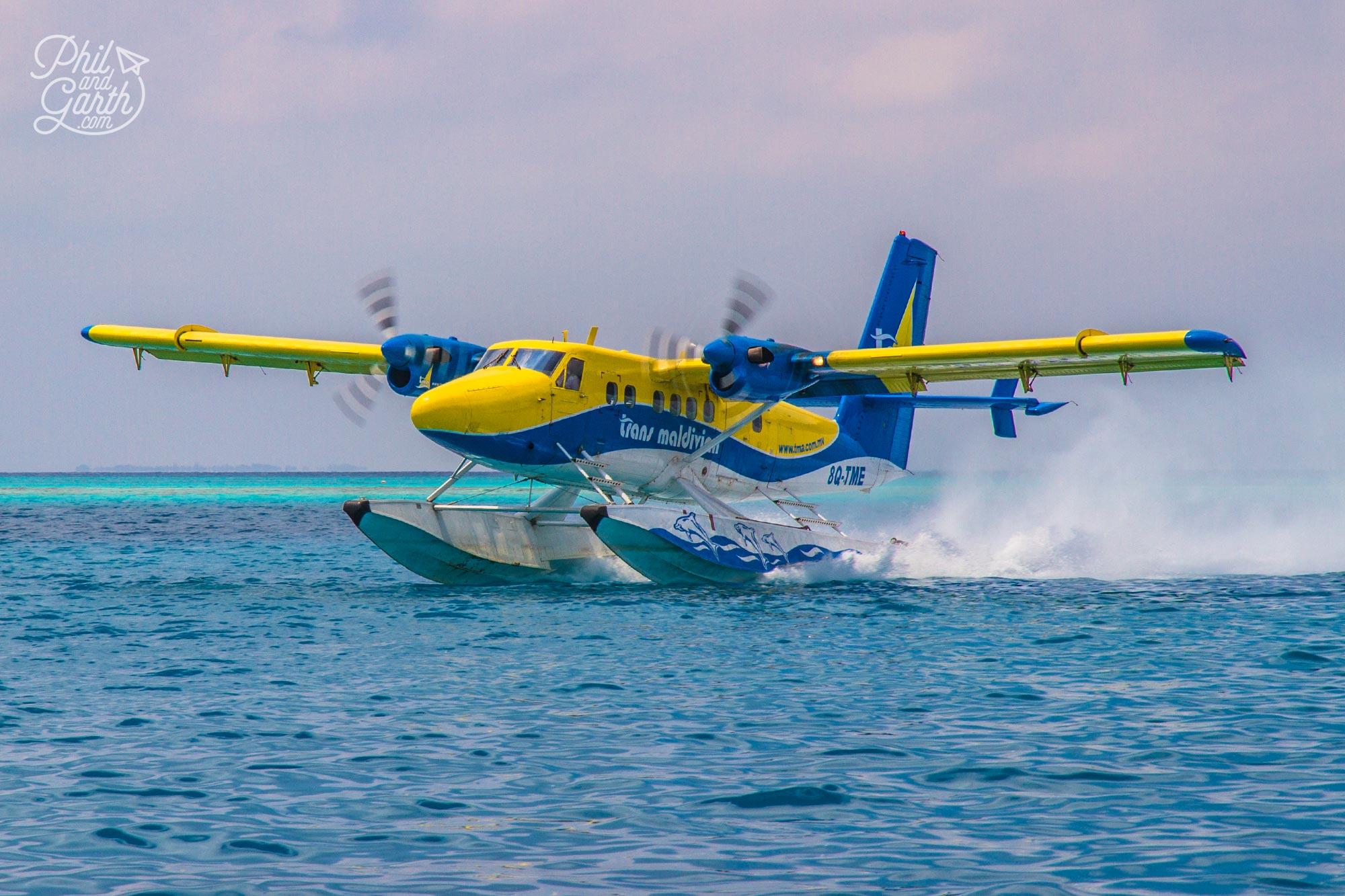 Seaplane sightseeing excursion