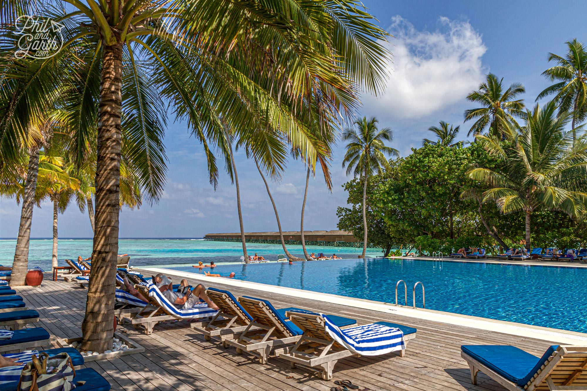 The Pavilion fresh water swimming pool