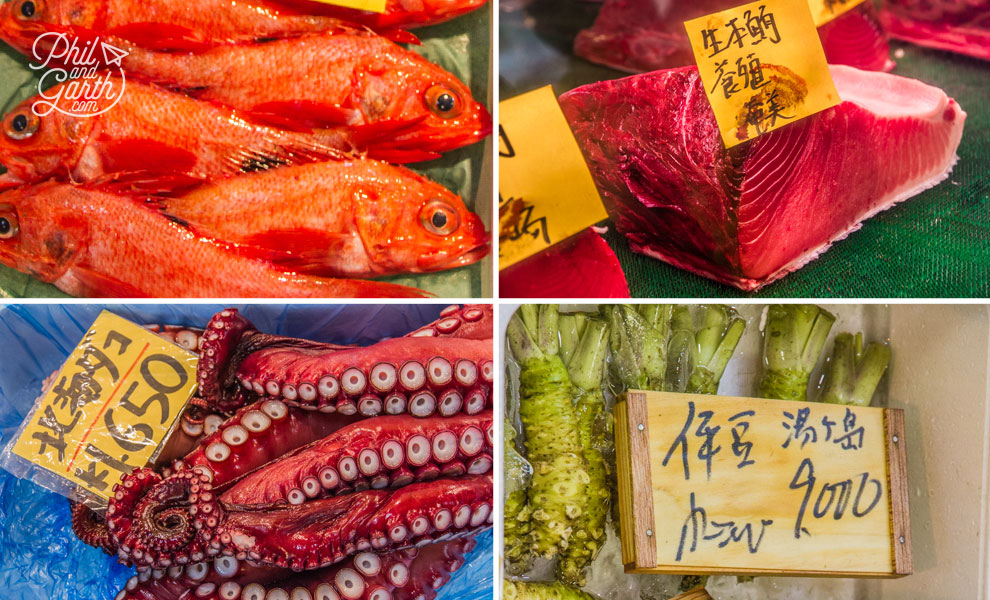 Tokyo_fish_for_sale_travel_review_and_video