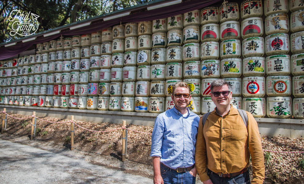 Tokyo_sake_barrels_travel_review_and_video