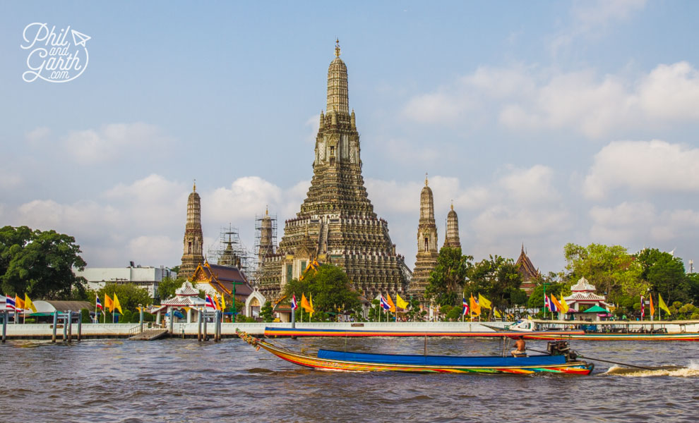 Wat Arun and Chao Phraya River