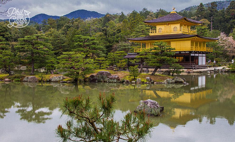 The Golden Pavilion of Kyoto