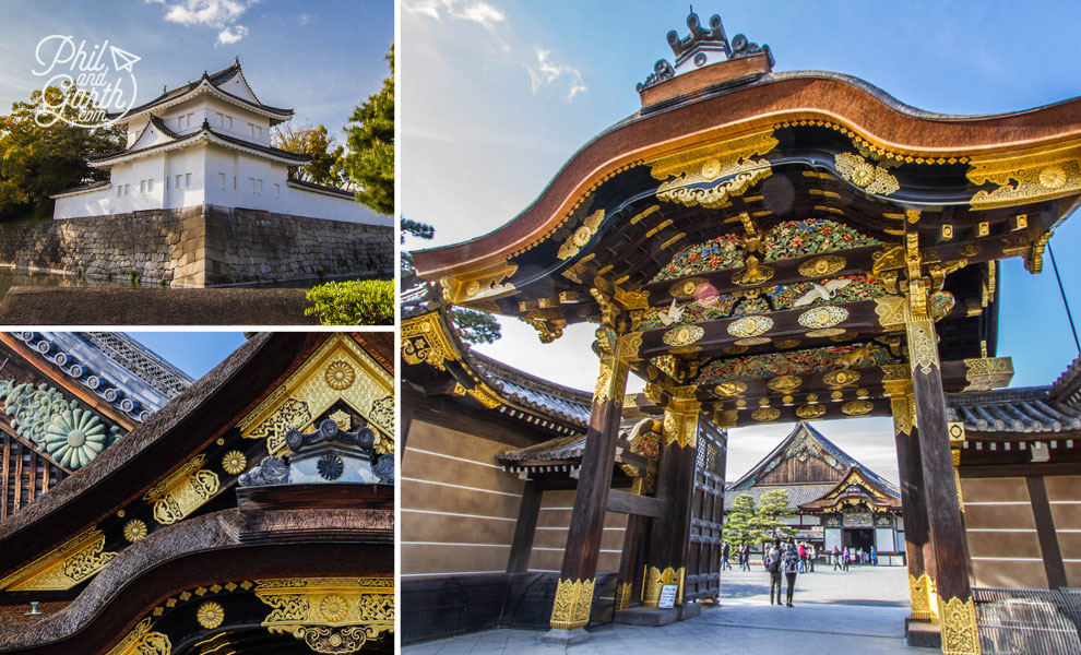 kyoto_japan_Nijo_jo_Castle_travel_review_and_quick_video