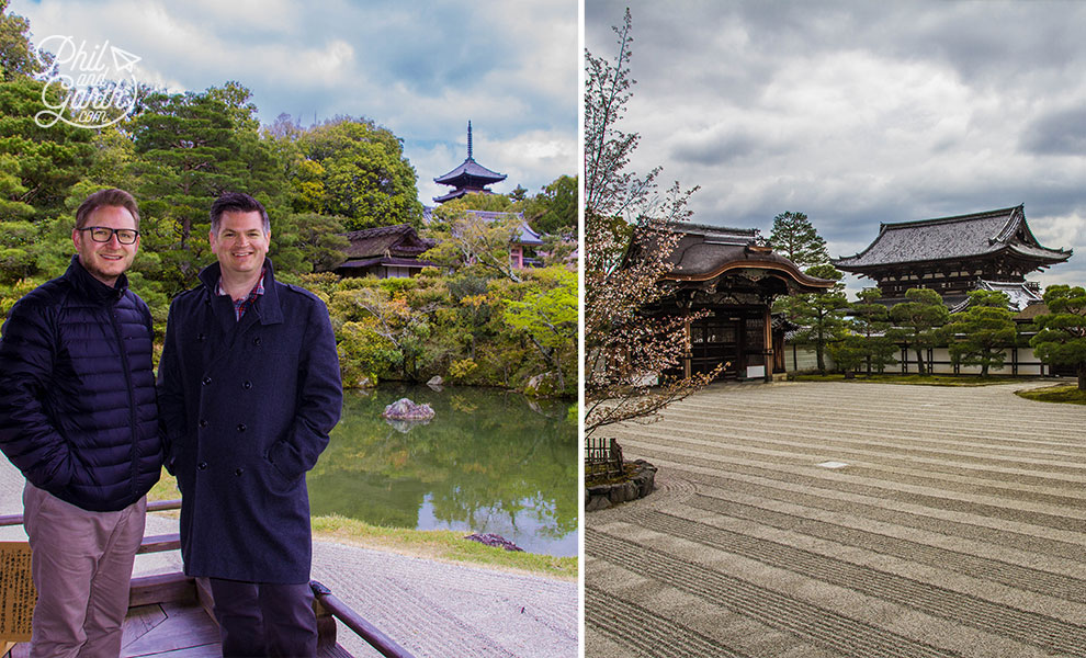 kyoto_japan_Ninnaji_Temple_pond_travel_review_and_quick_video