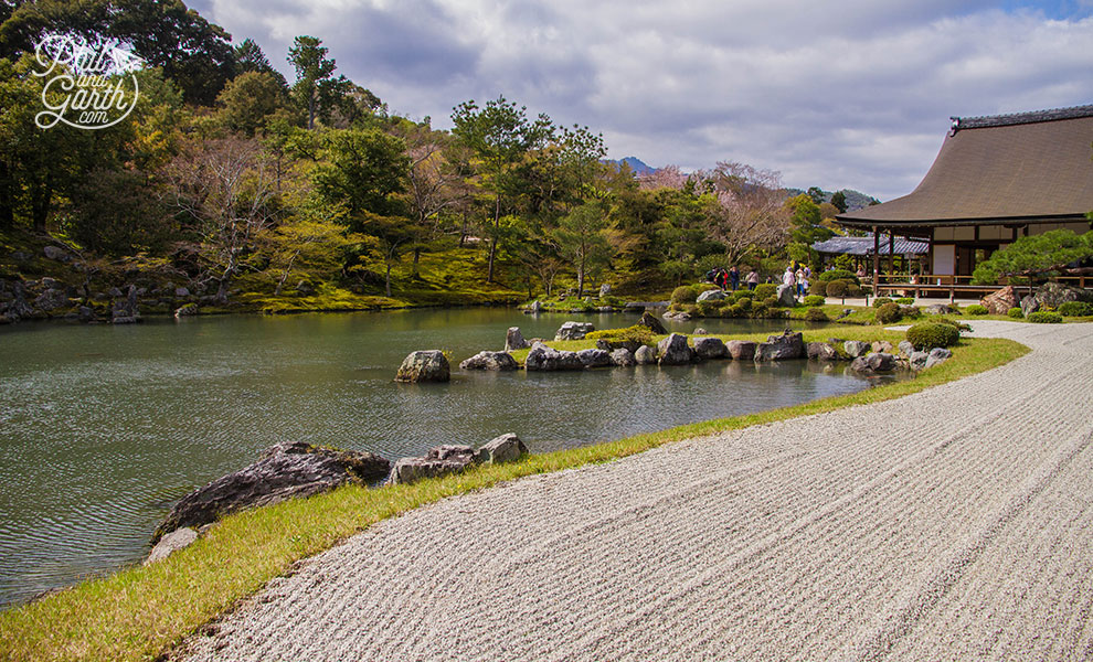 kyoto_japan_Tenryu_ji_Temple_travel_review_and_quick_video