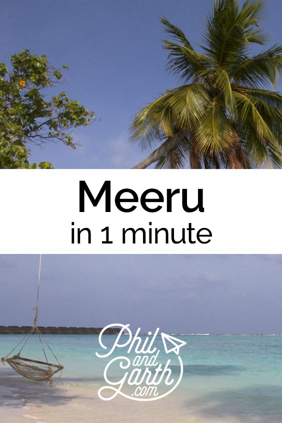 Watch Meeru, Maldives in 1 minute - sightseeing, must see sights, things to do, top 5 tips, food review, photography inspiration, advice and information. Read our full travel guide on our blog www.philandgarth.com