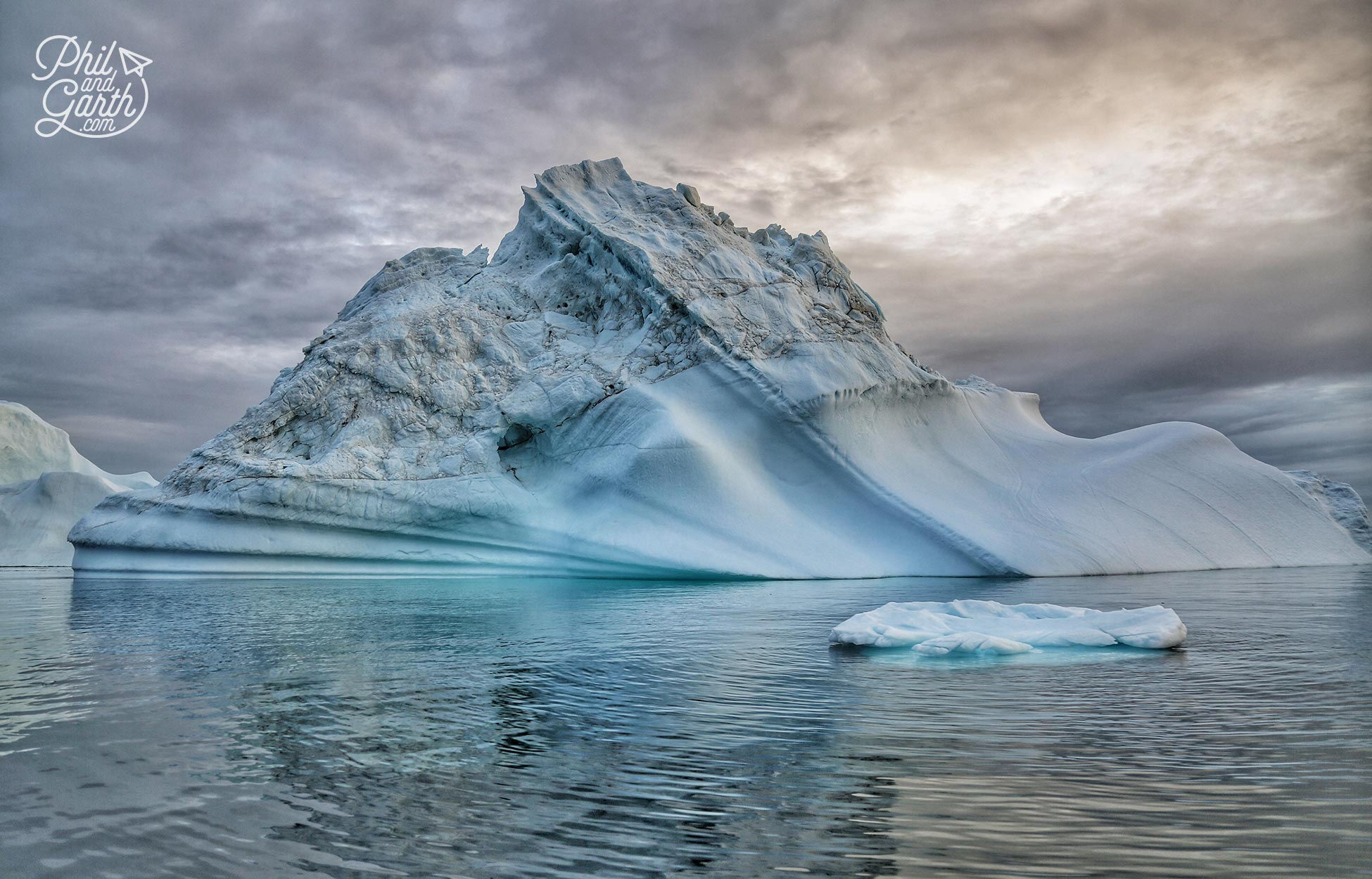 Did you know that Icebergs regularly flip over?
