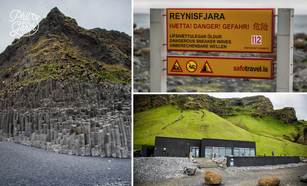 Iceland-south-Reynisfjara-black-beach-and-restaurant-travel-review