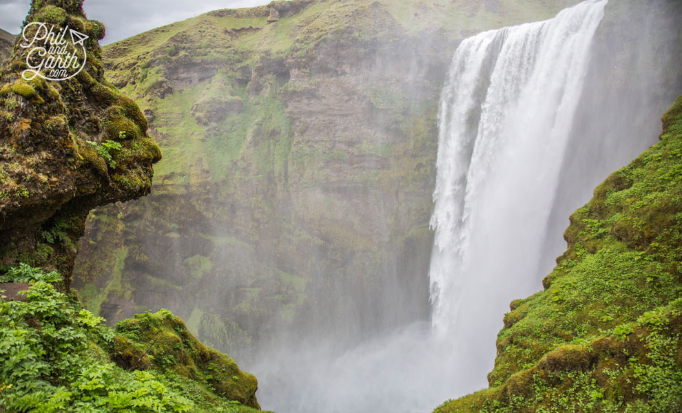 Iceland-south-Skogafoss-halfway-vantage-point-travel-review