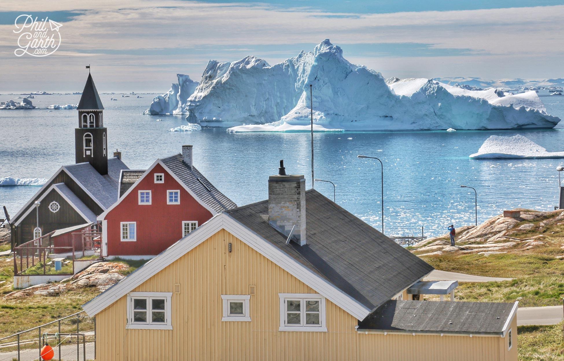 Ilulissat is a rainbow coloured city