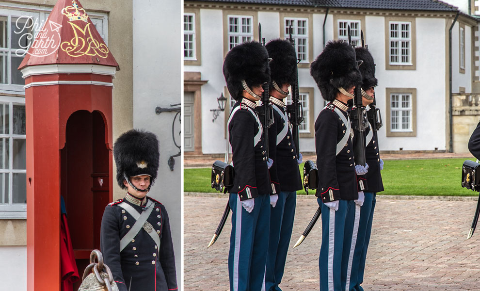 copenhagen_Fredensborg_Palace_guards_travel_review_and_video