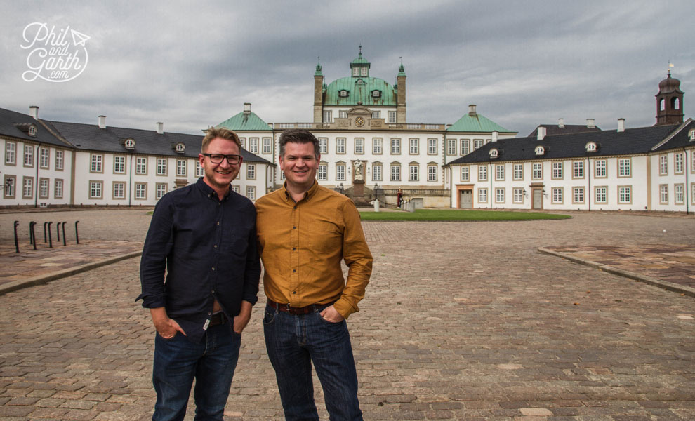 Garth and Phil at Fredensborg_Palace