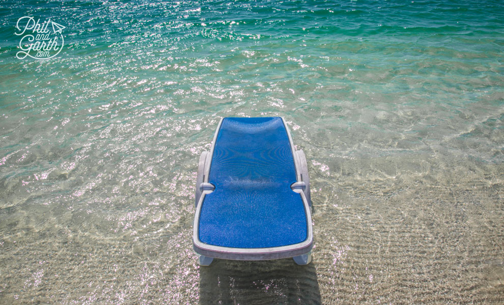 cuba_varadero_lounger_on_beach_travel_review_and_video