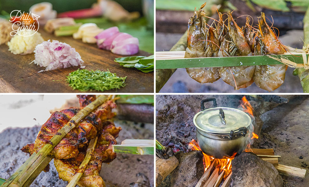 khao_sok_elephant_hills_jungle_hike_bbq_cooking_travel_review_and_video