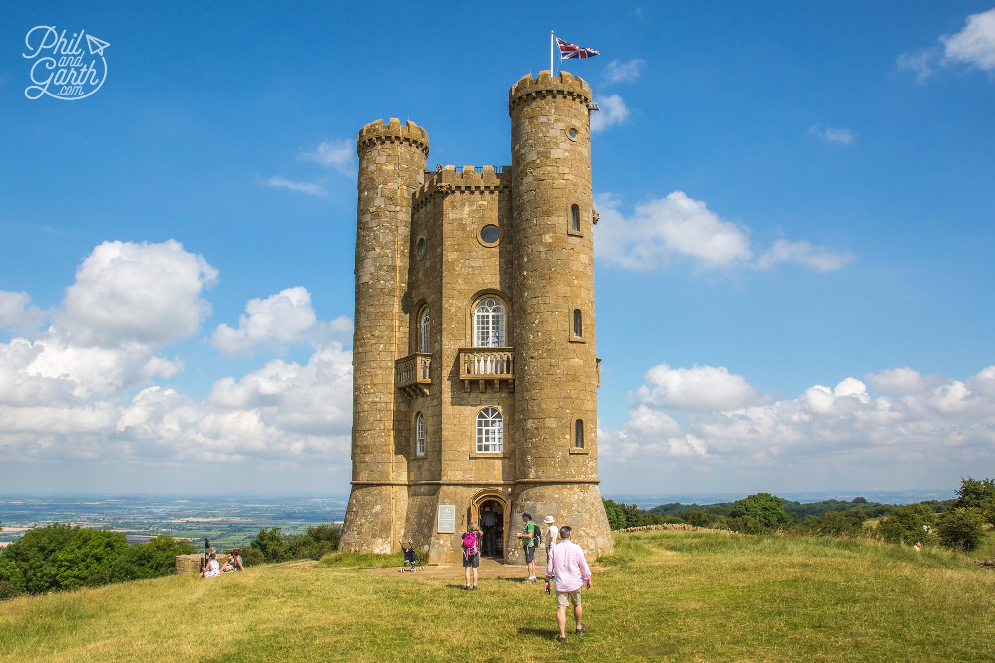 Broadway Tower - the highest castle in the Cotswolds