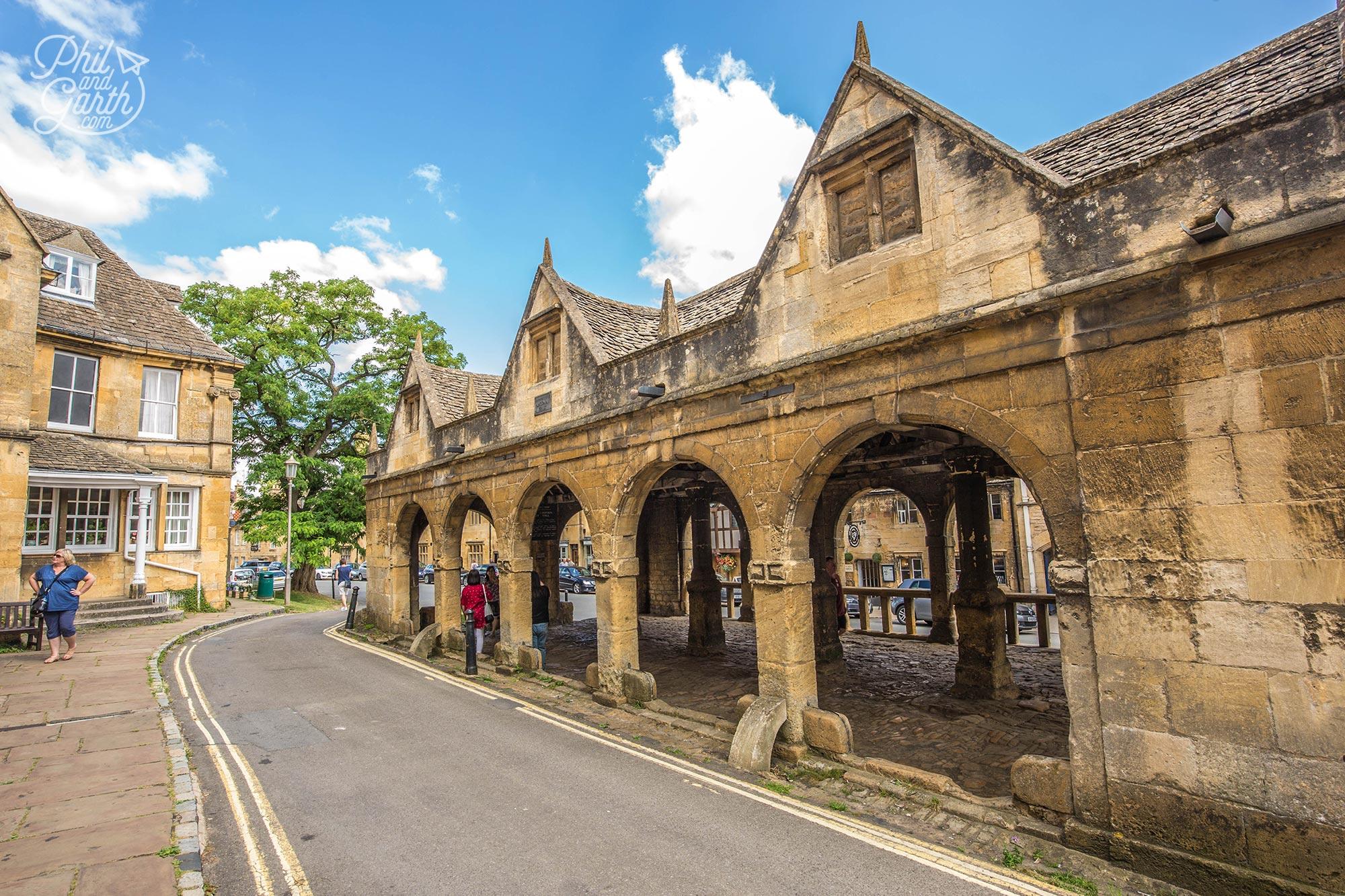 Chipping Campden's historic market hall