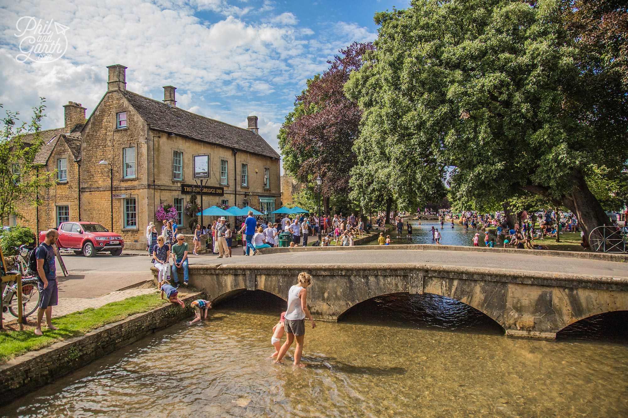 Signature low bridges of Bourton-on-the-Water