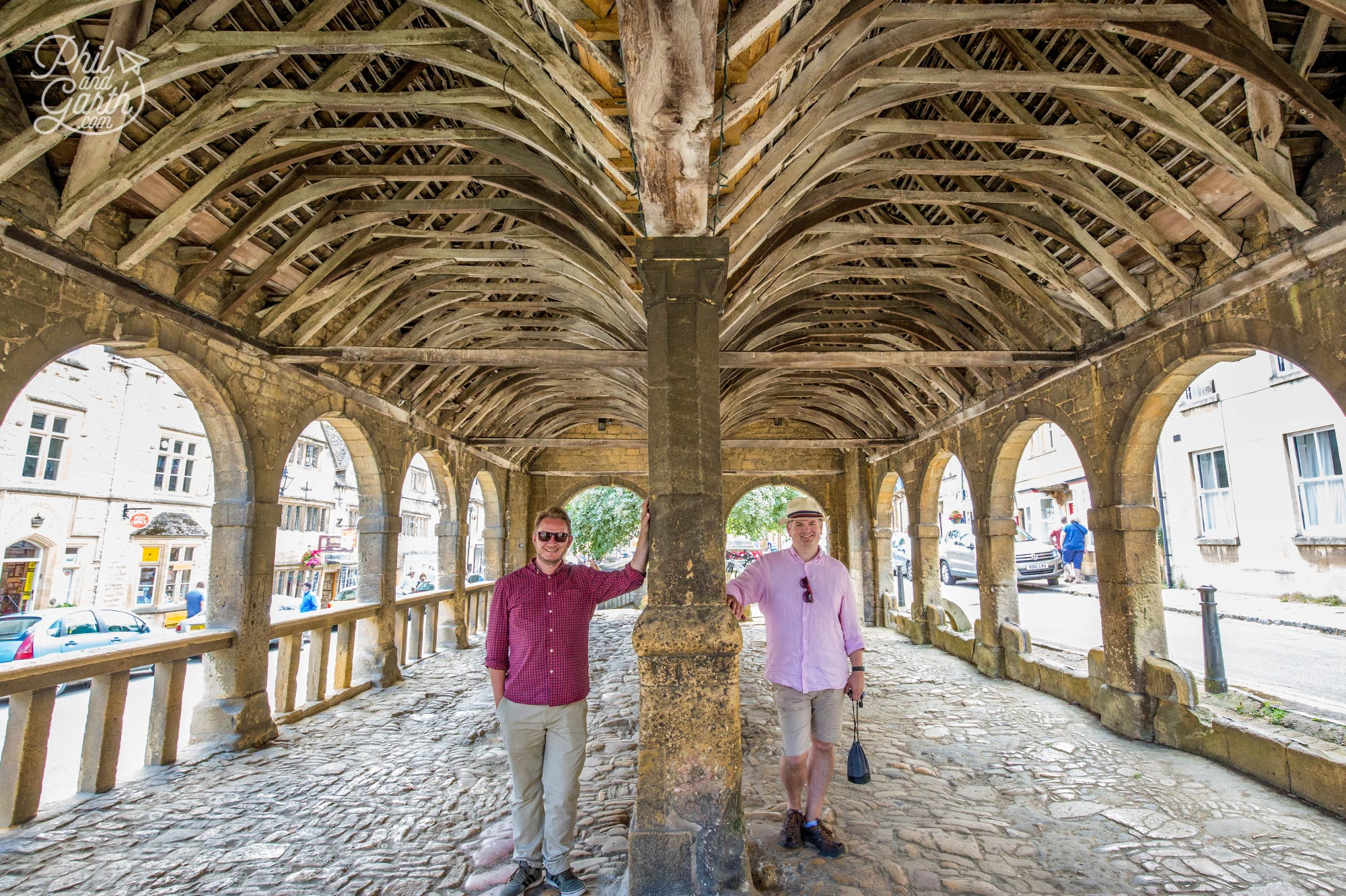 The 400 year old Chipping Campden market hall