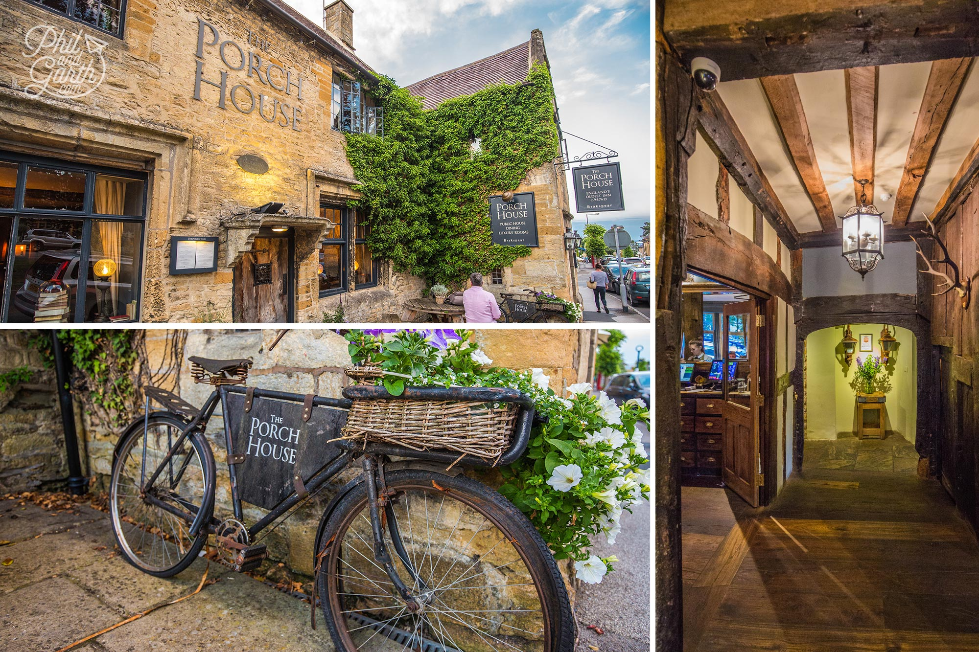 The Porch House - The oldest inn in Britain