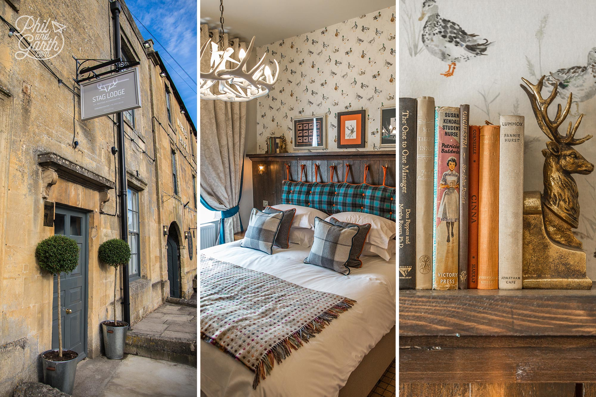 The Stag Lodge - Our chic and affordable accommodation