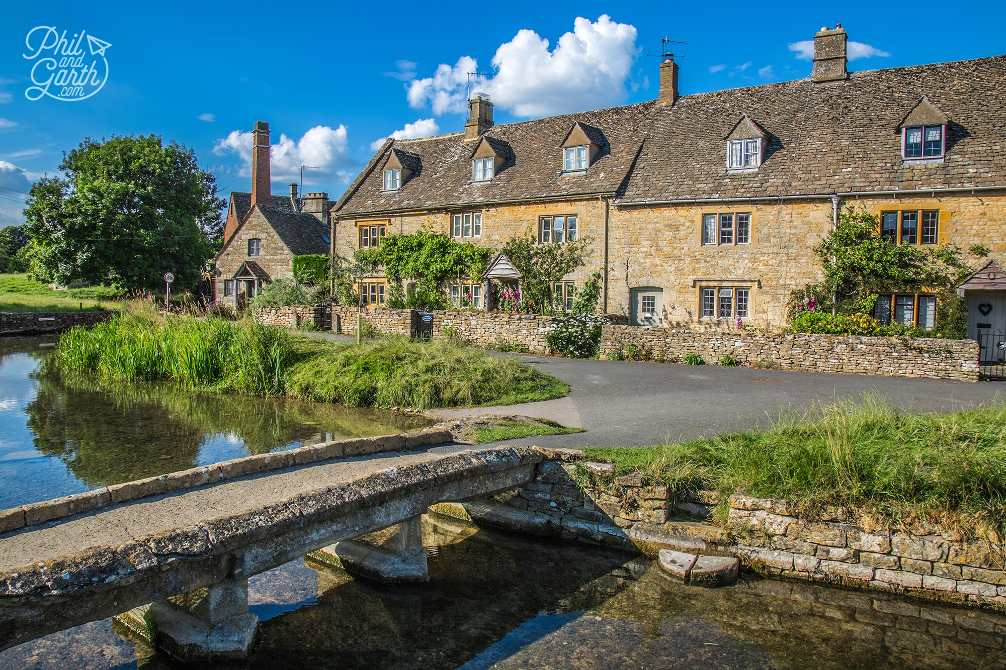 The quaint cottages of Lower Slaughter
