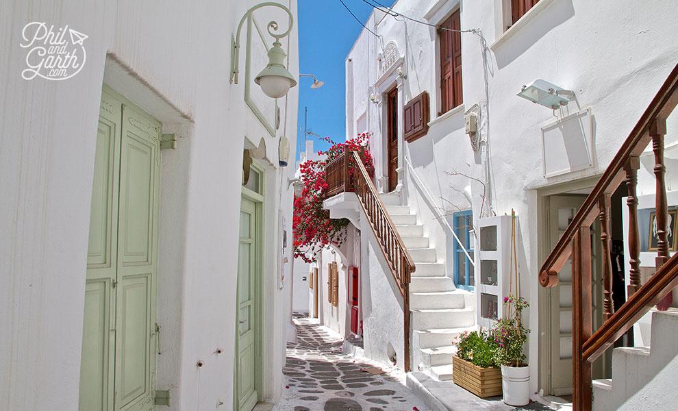 Maze of narrow streets