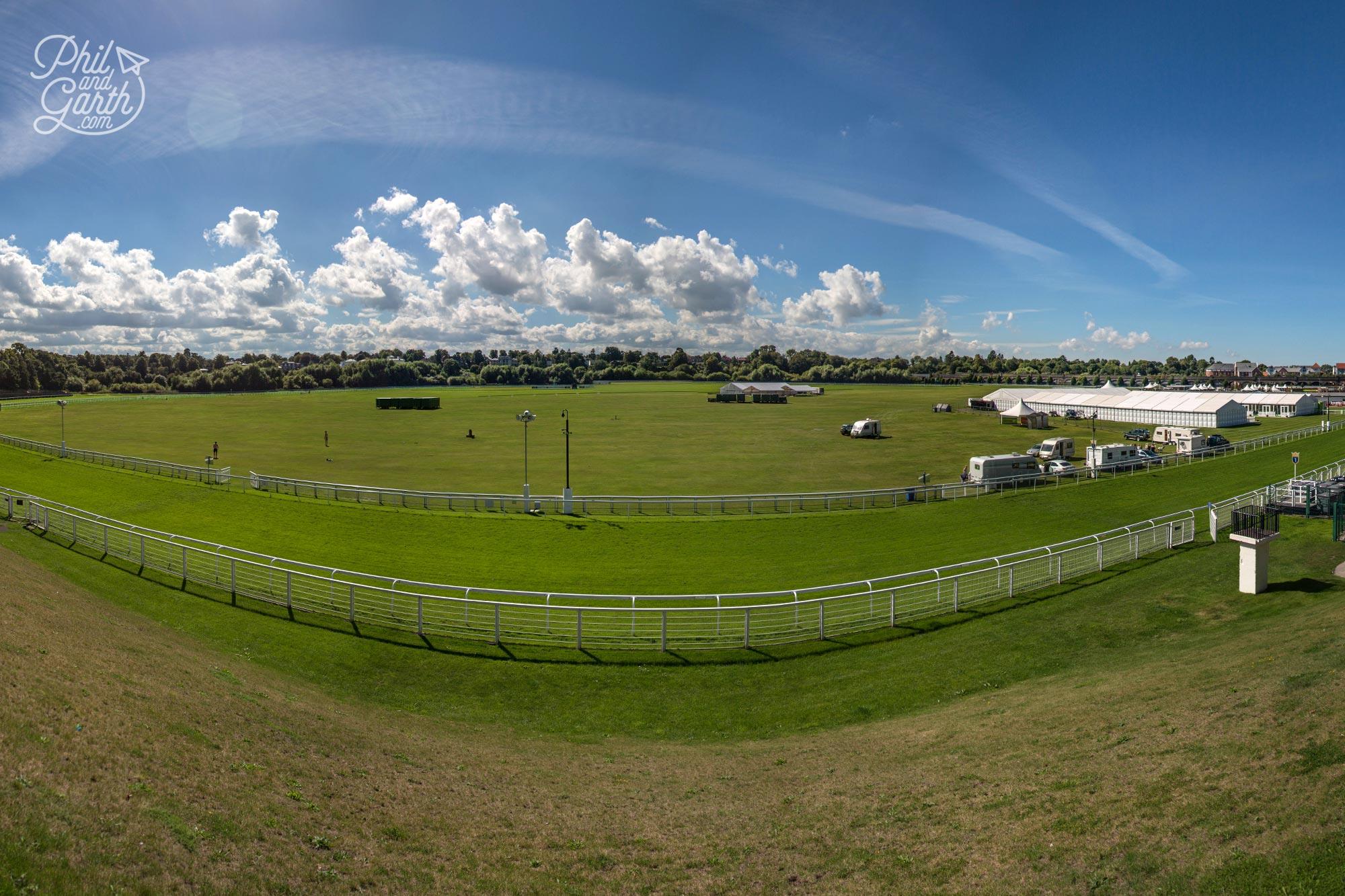 Britain's oldest racecourse