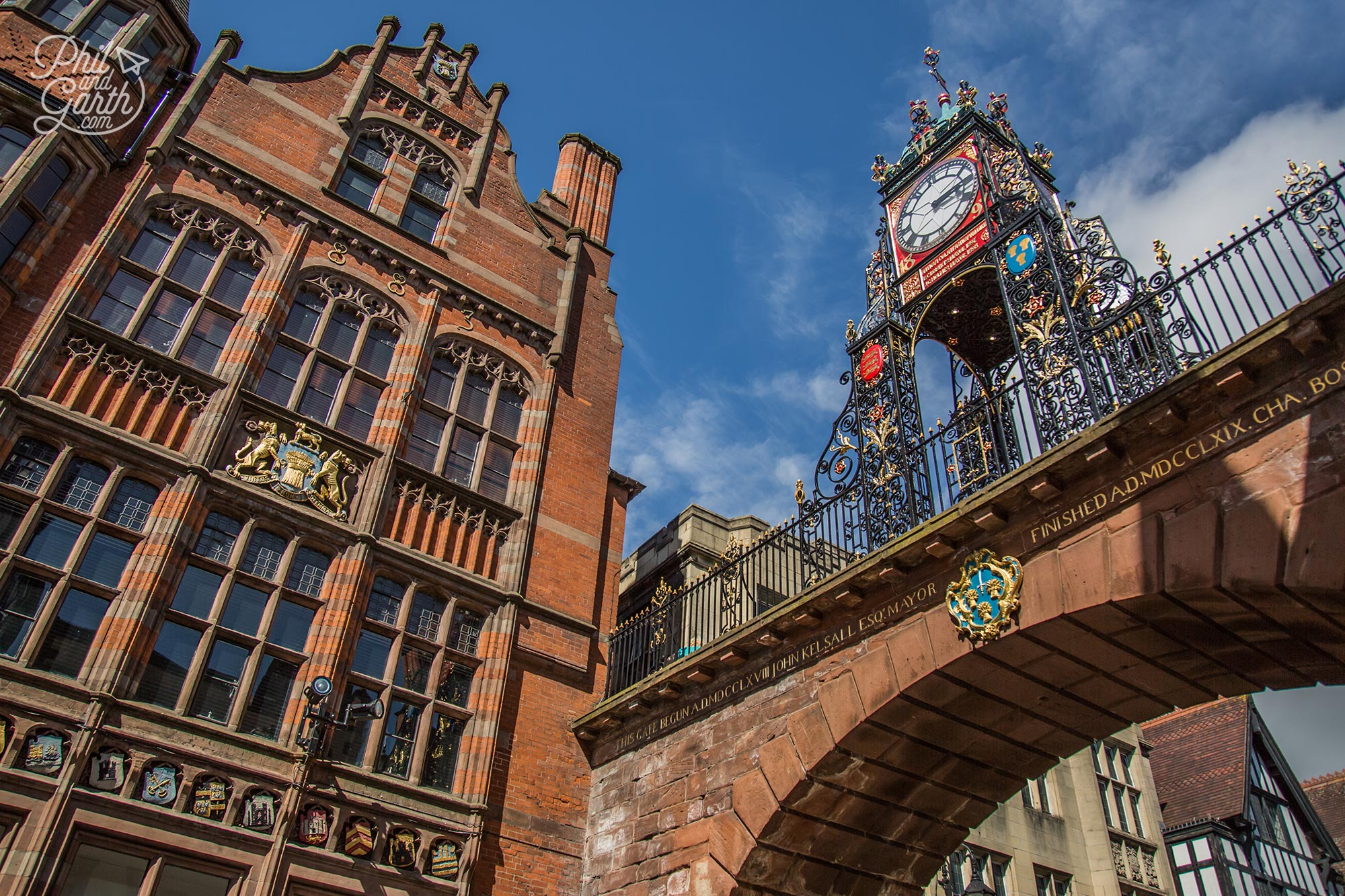 Chester's Eastgate Arch