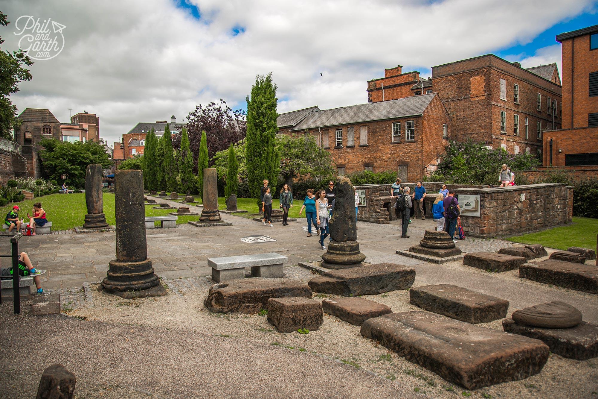 Chester's Roman Gardens