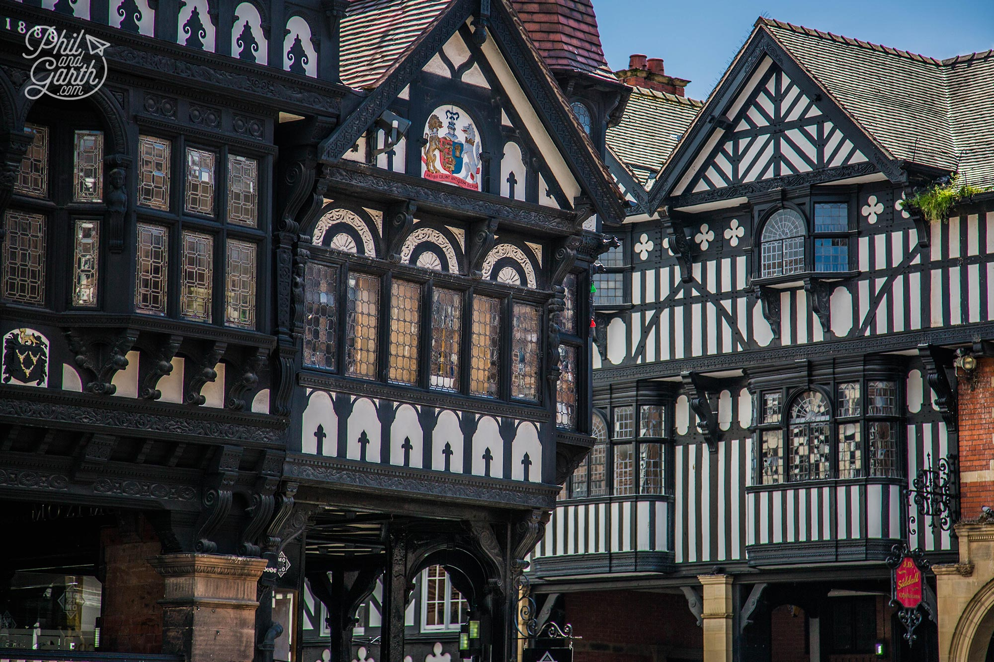 Chester's handsome tudor buildings