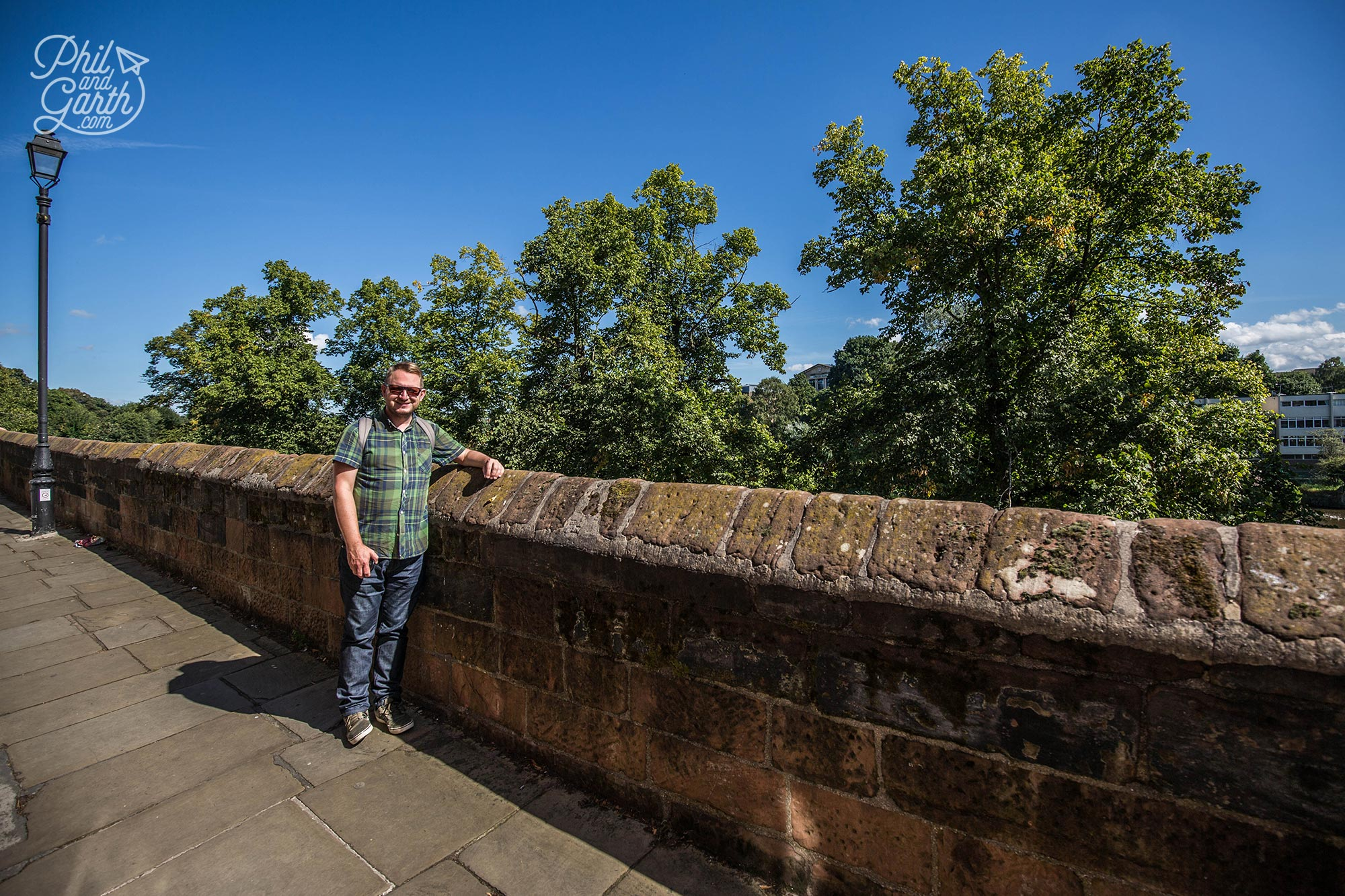 Garth on Chester's city wall near the River Dee