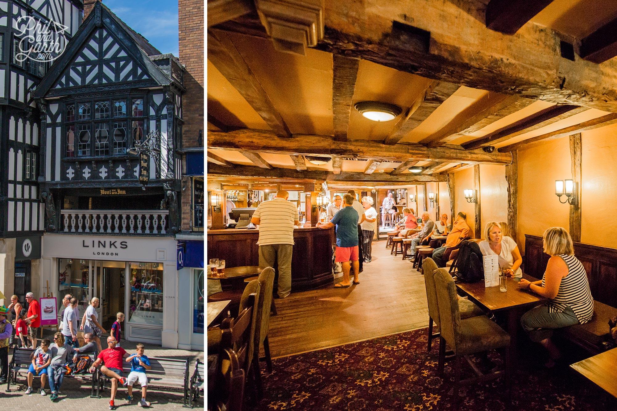 Ye Old Boot Inn. established 1643