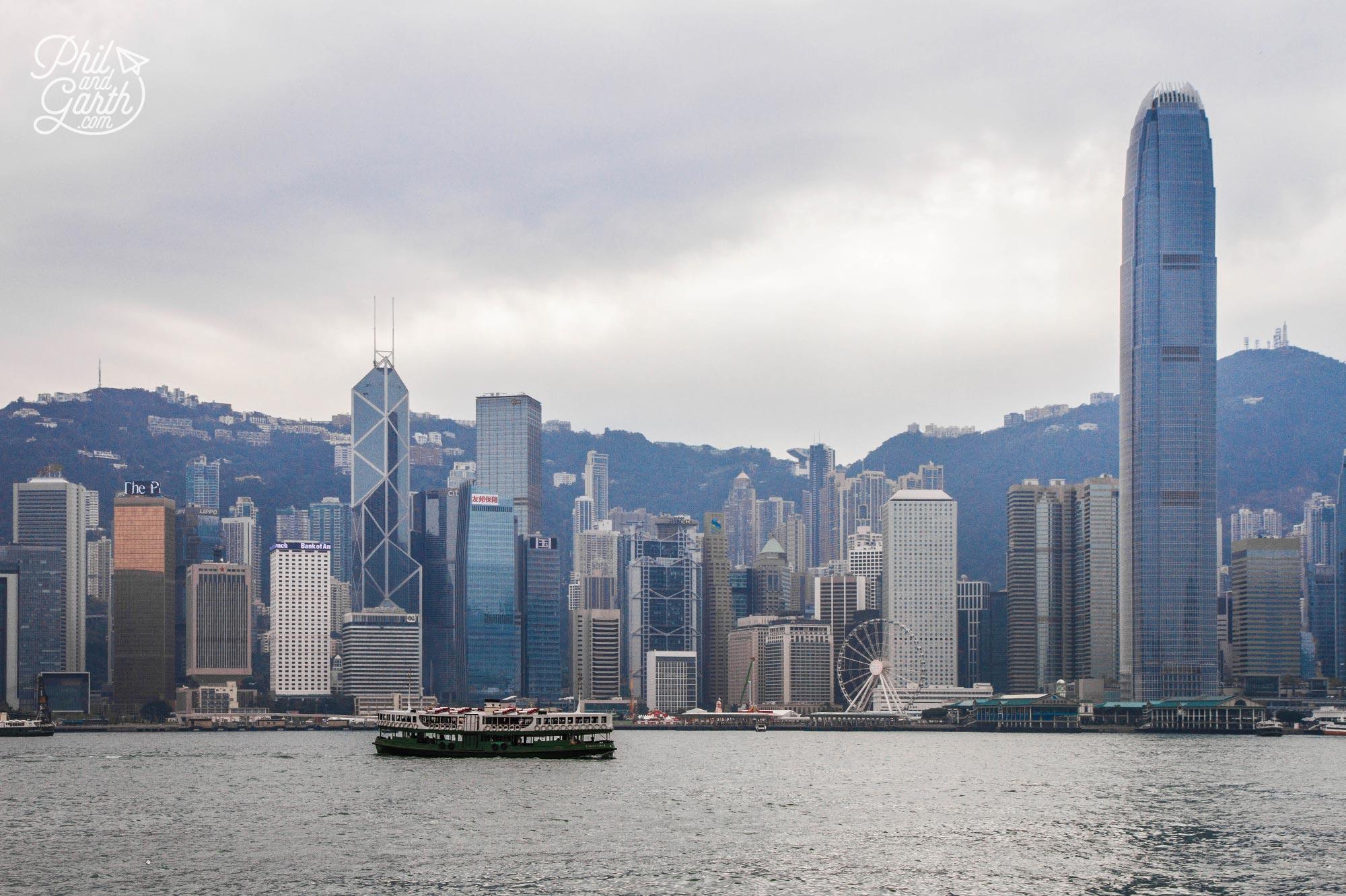 Hong Kong's historic Star Ferry - a must do ride