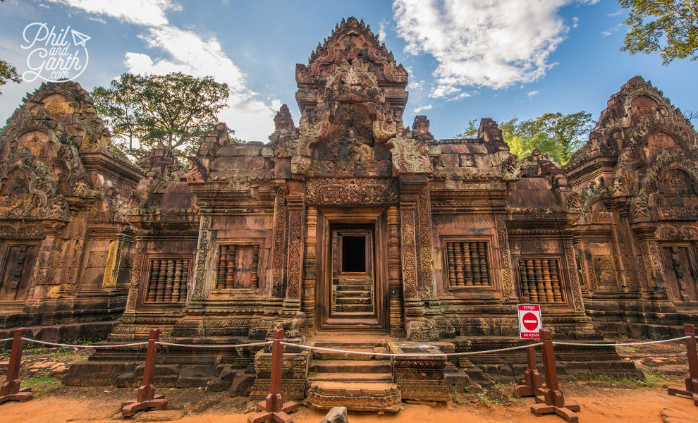 The 10th century Banteay Srei Temple