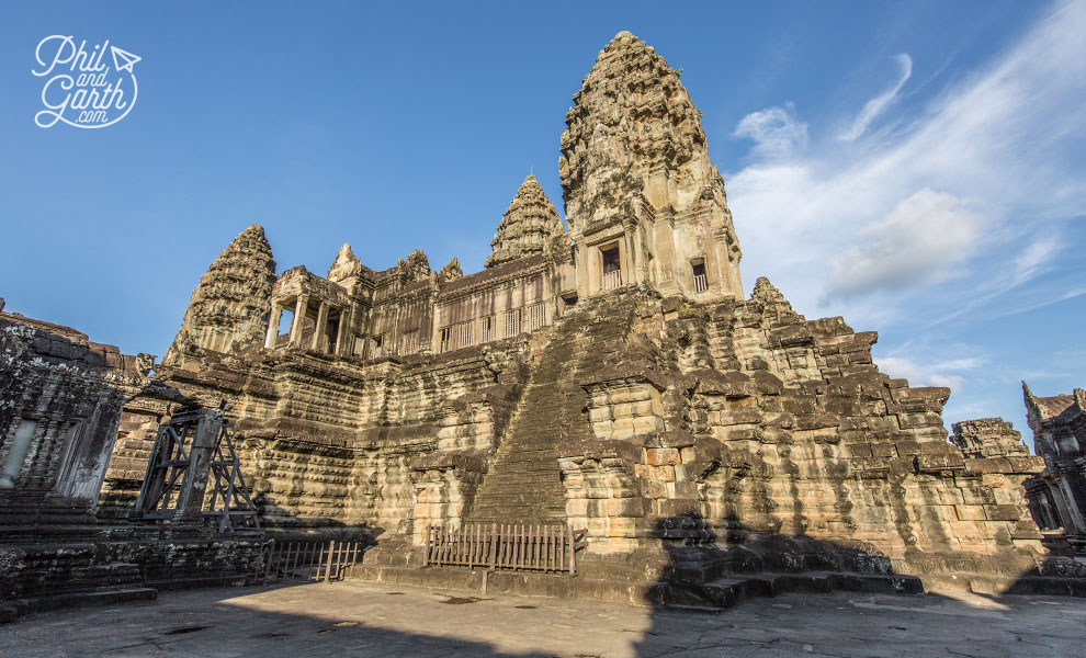 An empty Angkor Wat